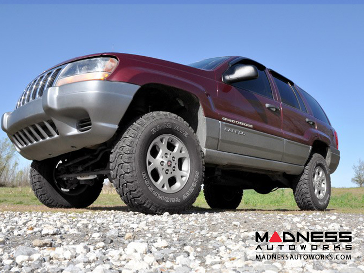 Jeep Grand Cherokee Lift Kit >> Jeep Grand Cherokee Wj Suspension Lift Kit 4 Lift